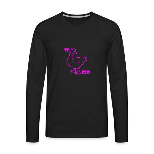 REBUS...STOCAZZO - Maglietta Premium a manica lunga da uomo