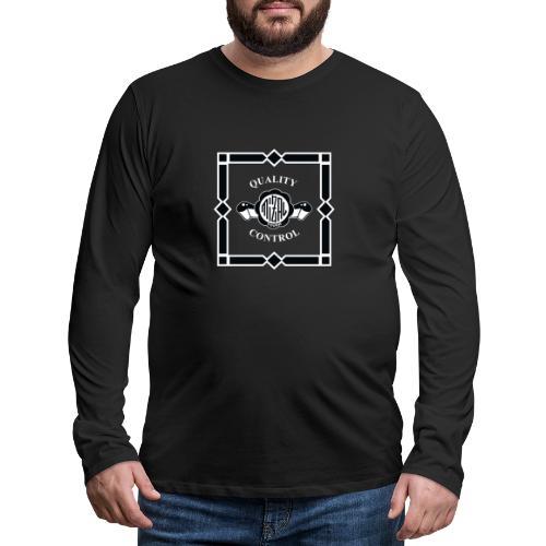 Quality Control by MizAl - Koszulka męska Premium z długim rękawem