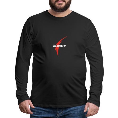 Dubstep - Maglietta Premium a manica lunga da uomo