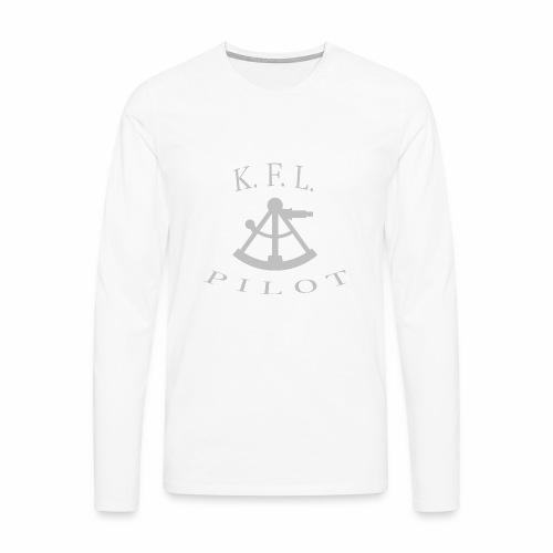 Sextant - Herre premium T-shirt med lange ærmer