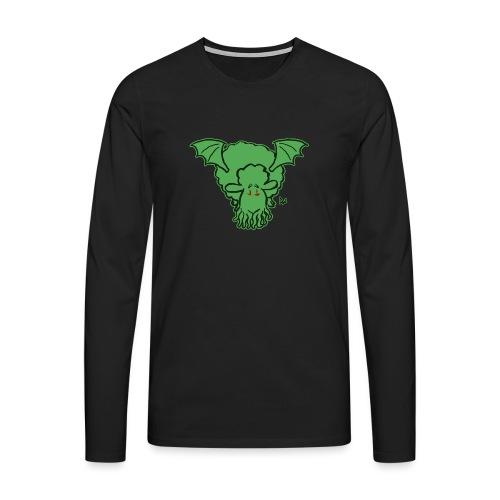 Cthulhu Sheep - Premium langermet T-skjorte for menn