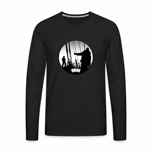 deck chair - Men's Premium Longsleeve Shirt