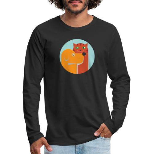 Tierfreund - Männer Premium Langarmshirt