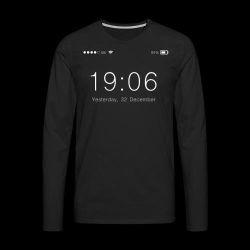 LockScreen bar - Men's Premium Longsleeve Shirt
