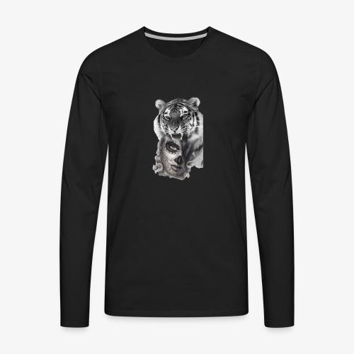 catriger - Camiseta de manga larga premium hombre