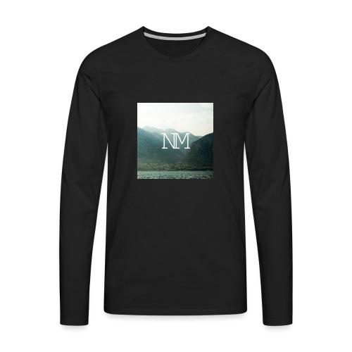 Niclas Moser Logo - Männer Premium Langarmshirt