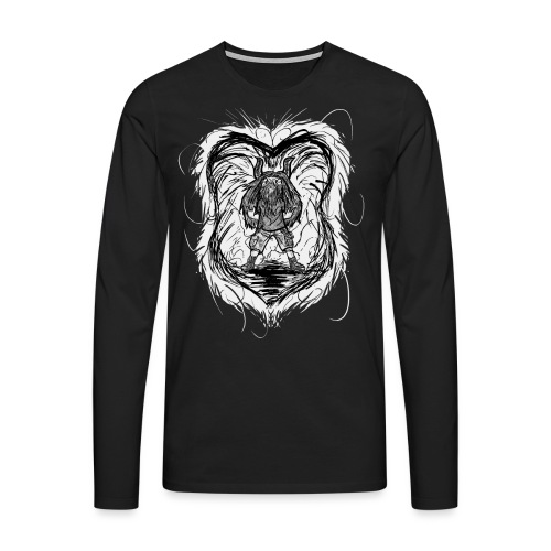Horned Metalhead - Men's Premium Longsleeve Shirt