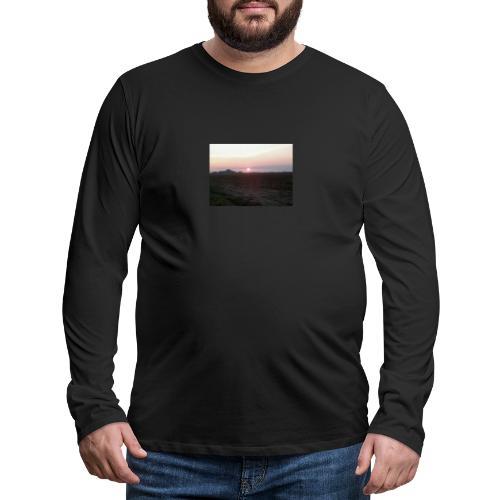 Alba - Maglietta Premium a manica lunga da uomo