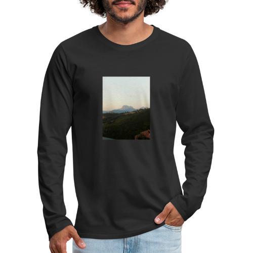 Panorama - Maglietta Premium a manica lunga da uomo