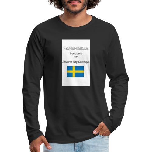 Fanbrigade - Herre premium T-shirt med lange ærmer
