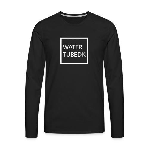 water tubedk - Herre premium T-shirt med lange ærmer