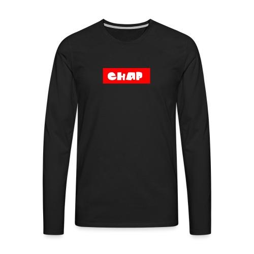no-more-then-chap - Herre premium T-shirt med lange ærmer