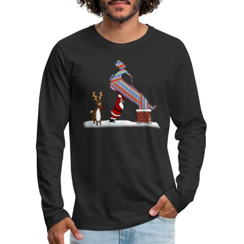 Superstox Stock Car Christmas Delivery - Men's Premium Longsleeve Shirt