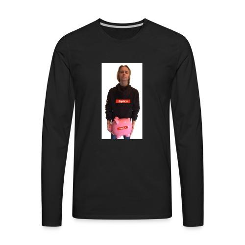 Sigrid_uPhotoTee - Premium langermet T-skjorte for menn