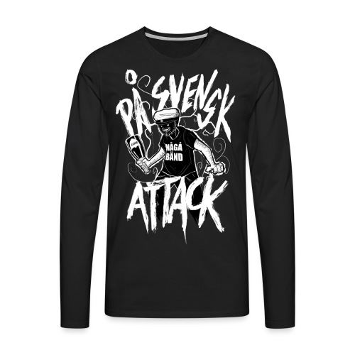 På Svenska Tack - Men's Premium Longsleeve Shirt