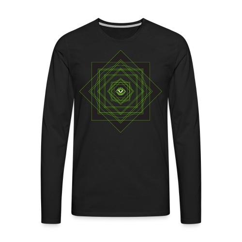 star pattern png - Men's Premium Longsleeve Shirt