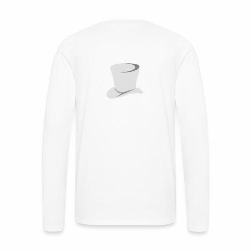 O'Malley Logo bw - Herre premium T-shirt med lange ærmer