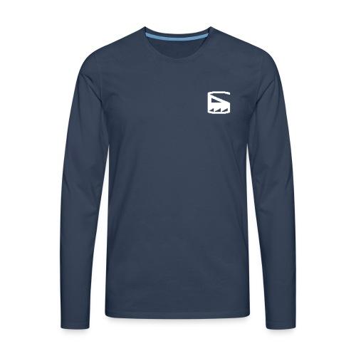 tdLOGO-pixel - Men's Premium Longsleeve Shirt