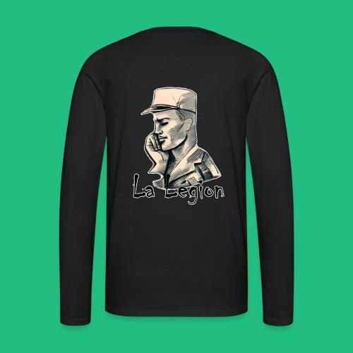 la legion - T-shirt manches longues Premium Homme