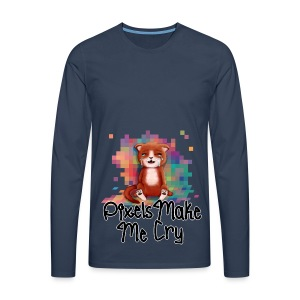 Pixel's Make Me Cry - Men's Premium Longsleeve Shirt