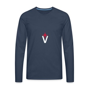 Vega Small Logo - Men's Premium Longsleeve Shirt