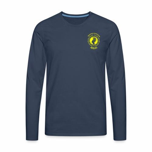 NBKALogga - Långärmad premium-T-shirt herr