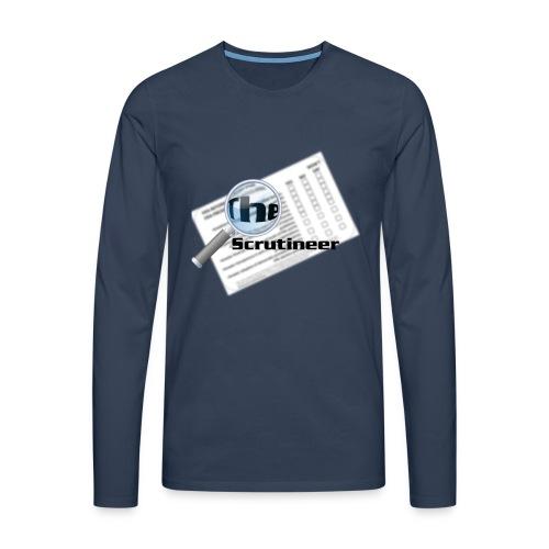 The scrutineer logo - Men's Premium Longsleeve Shirt