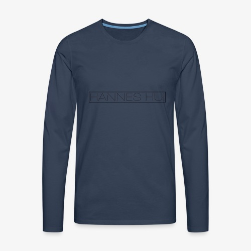 Hannes Logo4 v4 - Männer Premium Langarmshirt