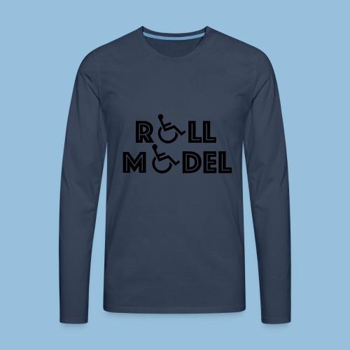 RollModel - Mannen Premium shirt met lange mouwen