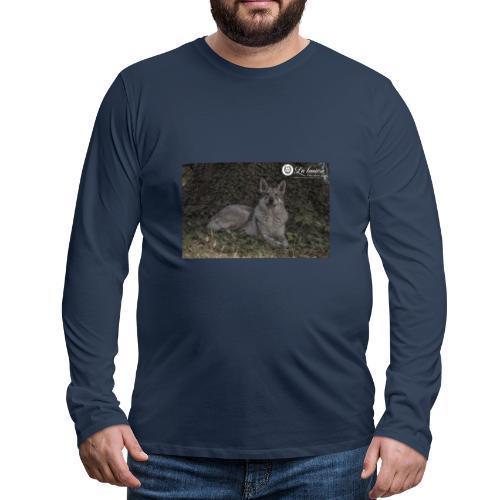 La Tanière des Chiens-Loups - T-shirt manches longues Premium Homme