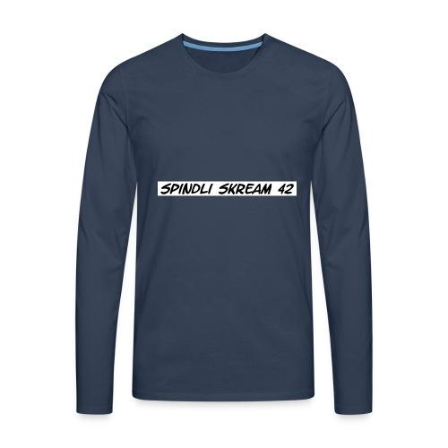 Spindli Skream's Shop - Männer Premium Langarmshirt