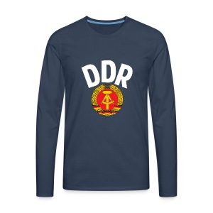 DDR - German Democratic Republic - Est Germany - Men's Premium Longsleeve Shirt