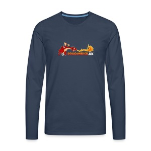 DRAGONKICK.UK - Men's Premium Longsleeve Shirt