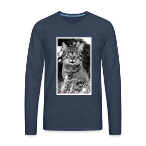 Tiger-Tom - Männer Premium Langarmshirt