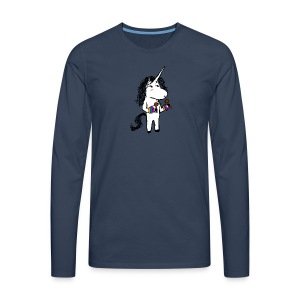 Unicorn Dancer - Men's Premium Longsleeve Shirt