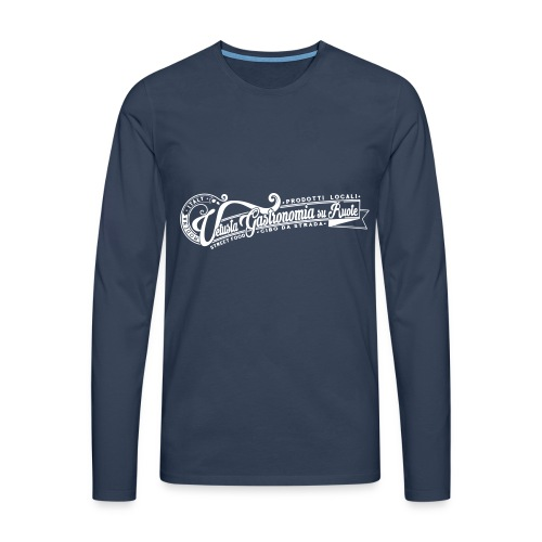 la_vetusta_GRAFICA_T_SHIRT_LOGO - Maglietta Premium a manica lunga da uomo