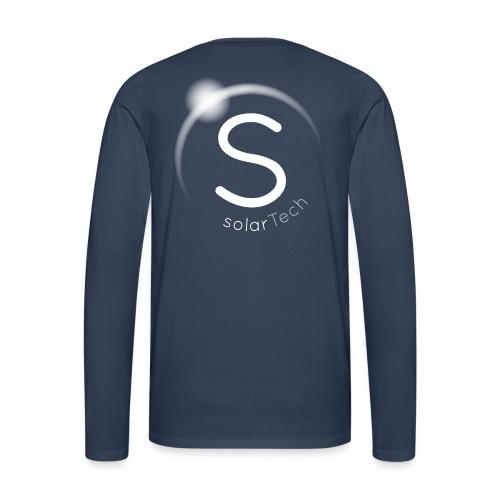 SolarTech - Camiseta de manga larga premium hombre