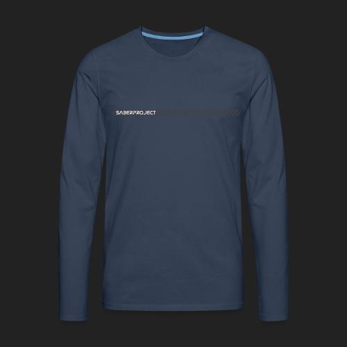 Saberproject Streifen - Männer Premium Langarmshirt