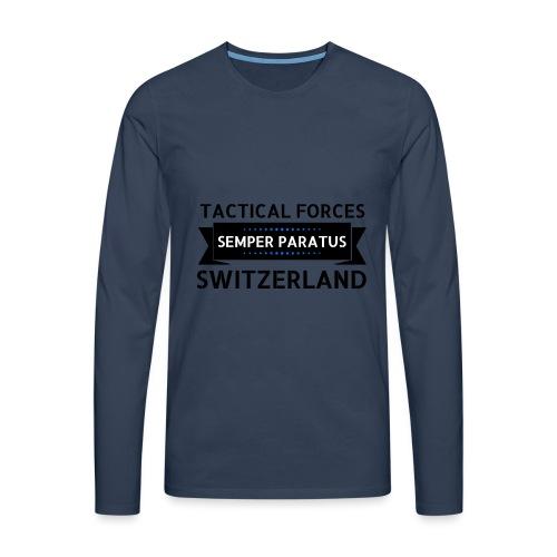 Semper Paratus 2 noir - T-shirt manches longues Premium Homme