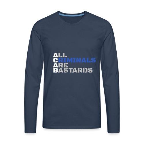 ACAB Citation - T-shirt manches longues Premium Homme