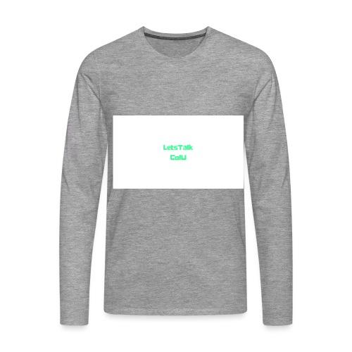 LetsTalk ColU - Men's Premium Longsleeve Shirt