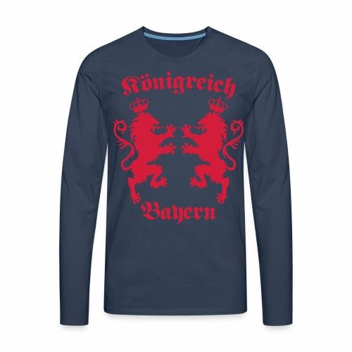 Königreich Bayern Löwen Königreich München c 1c - Männer Premium Langarmshirt