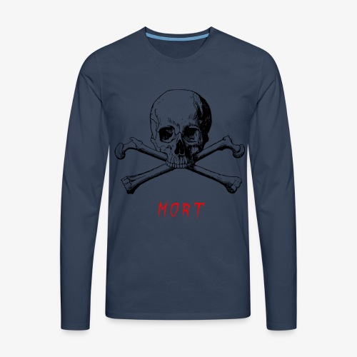 MORT - T-shirt manches longues Premium Homme