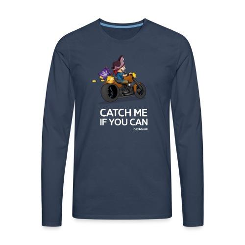 tshirt rider1 - T-shirt manches longues Premium Homme