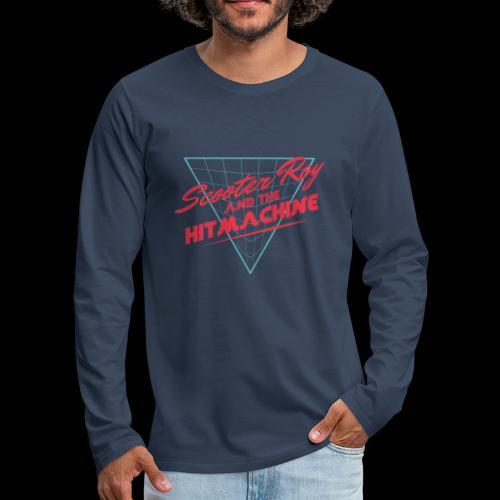ScooterRoy and the Hitmachine - Mannen Premium shirt met lange mouwen
