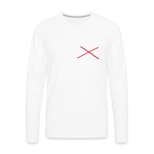 I Love MILK - Mannen Premium shirt met lange mouwen