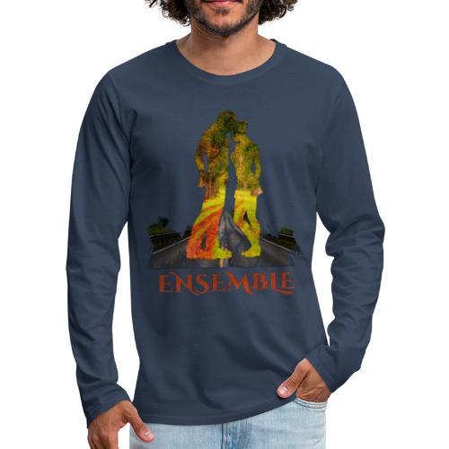 Ensemble -by- T-shirt chic et choc - T-shirt manches longues Premium Homme