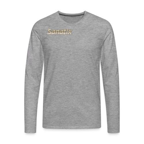 Sanatix Kids red t-Shirt - Men's Premium Longsleeve Shirt