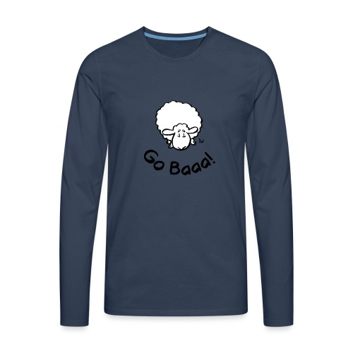Sheep Go Baaa! - Men's Premium Longsleeve Shirt