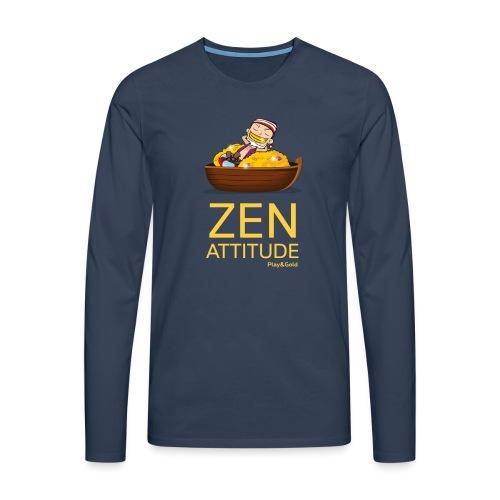 tshirt zen1 - T-shirt manches longues Premium Homme